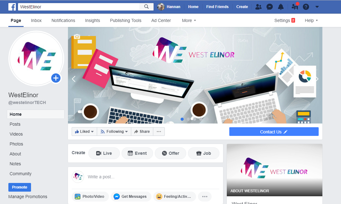Set up and manage Facebook Business Page