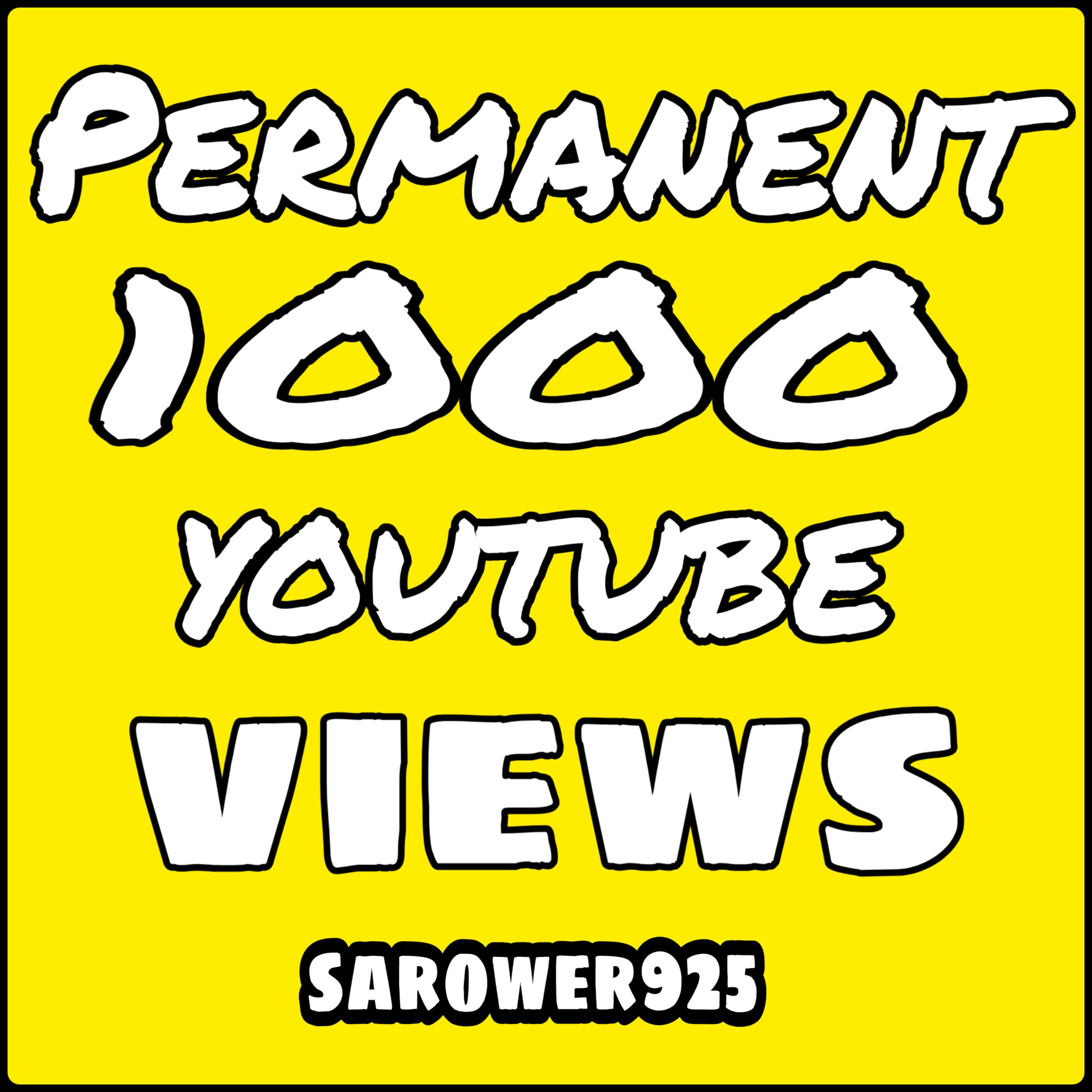 Add 1000 High Quality youtube video viws promotion very fast