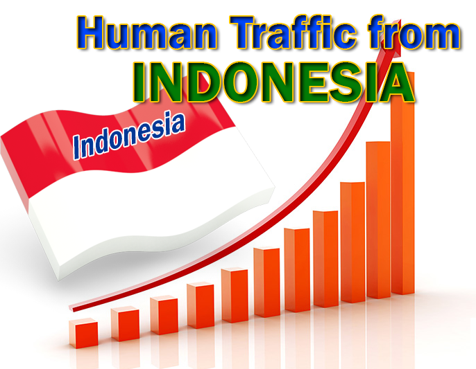 30000 INDONESIA TARGETED Human traffic to your CASINO Website