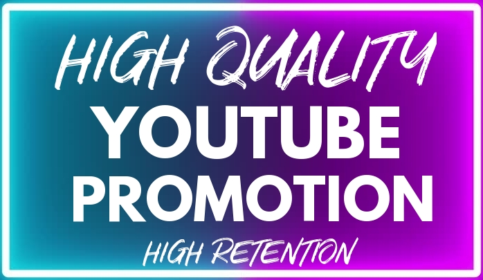 YouTube VIDEO Promotion NON DROP With Premium and Organic Method Lifetime Guarantee