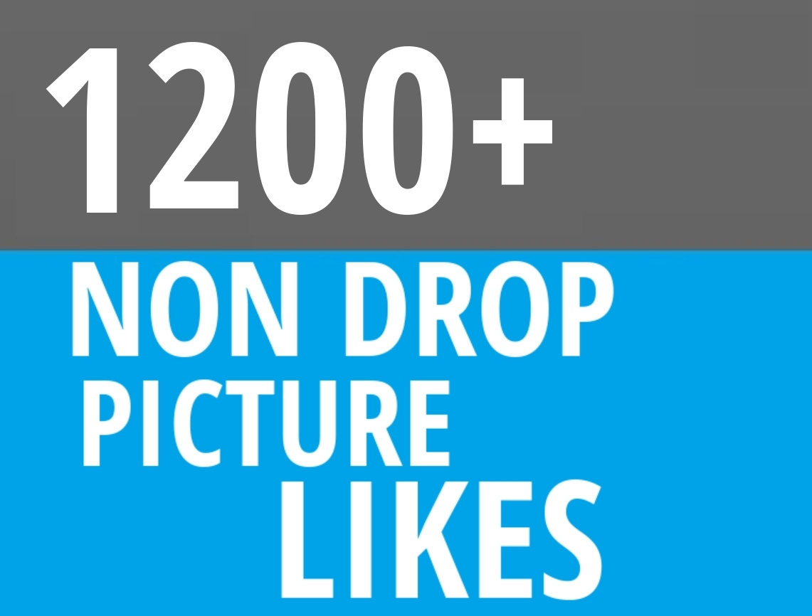Instant 1200+ Picture OR Video Promotion with Organic Method