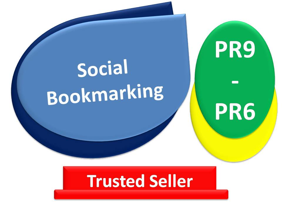 Get Rank 10 Top Social Bookmarking sites PR9 - PR6 - With fast delivery