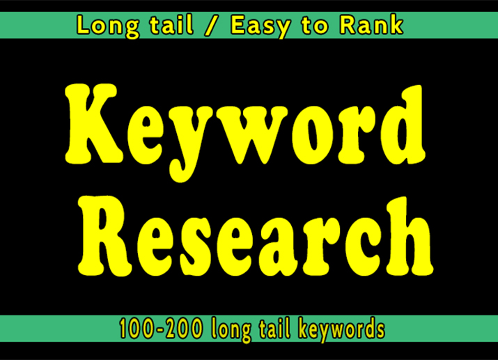 100 long tail keyword research easy to rank for you website