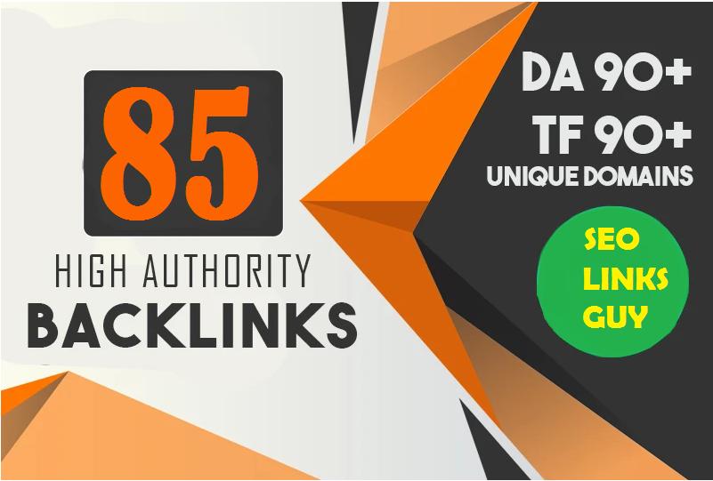 Build DA 80+ Profile 85 Backlinks From Amazon,Adobe,Ted Etc