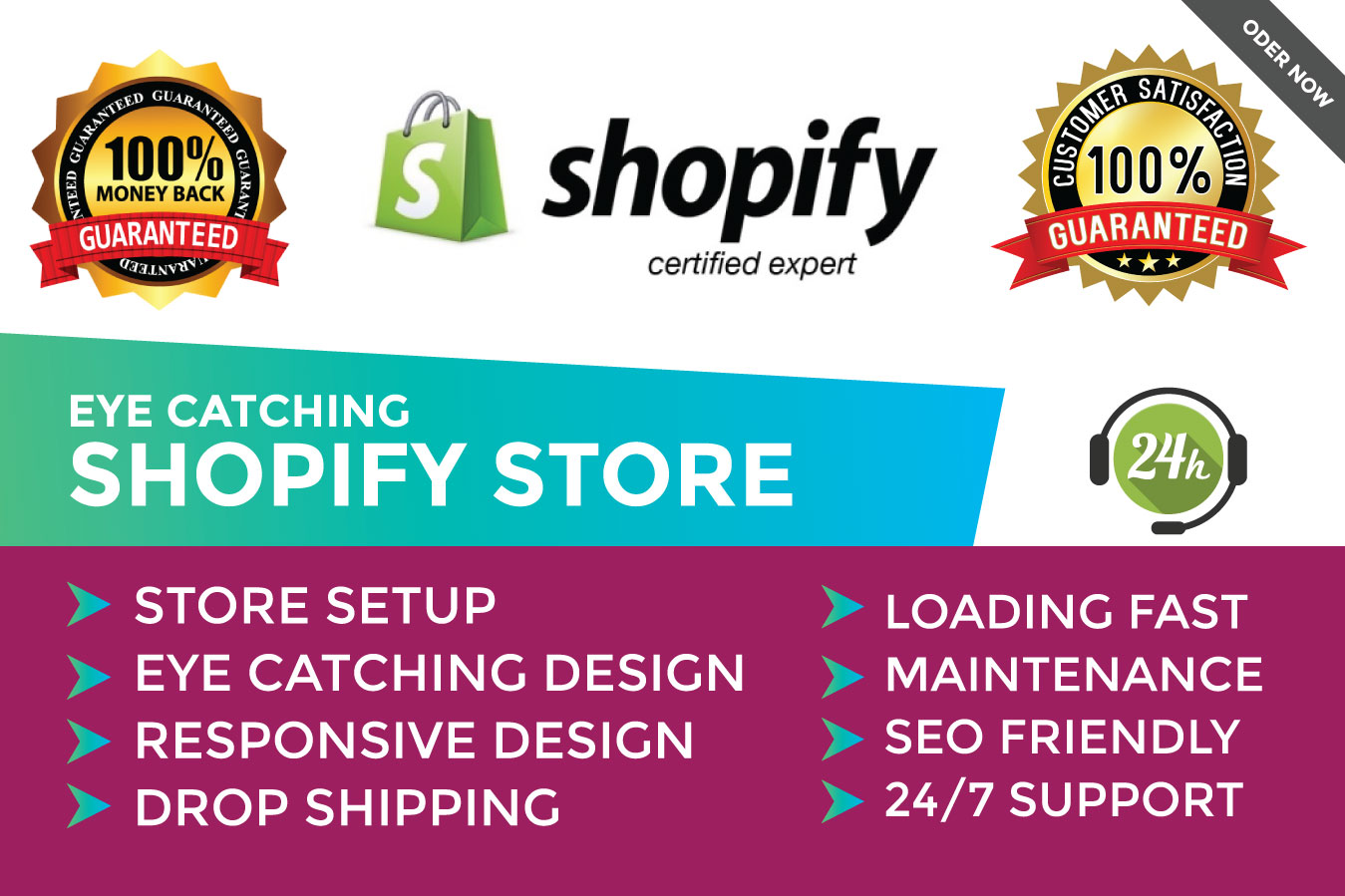 Build A Fully Optimized Complete Shopify Dropshipping Store