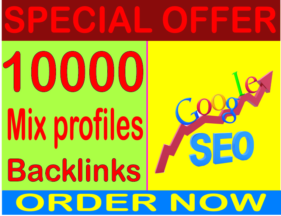 Boost SEO- Create 10000 Mix profiles High PR Metrics Backlinks