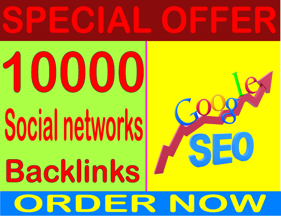 Best SEO Packages 2019- Submit over HQ PR 10000 Social networks contextual backlinks