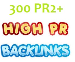 Create 300 Pr2+ Actual Page Rank,  Dofollow,  Penguin And Panda Safe High Quality Backliinks