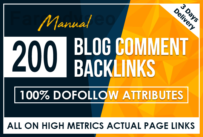 Will Do 200 Do follow Blog Comment Low Obl in