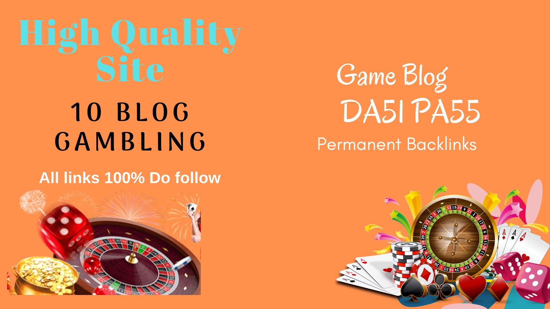 Permanent blogroll 10 Blog Casino GAmbling  DA 51/ PA 55