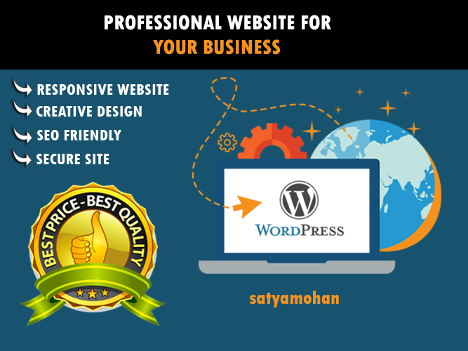 Design and develop fully responsive WordPress website