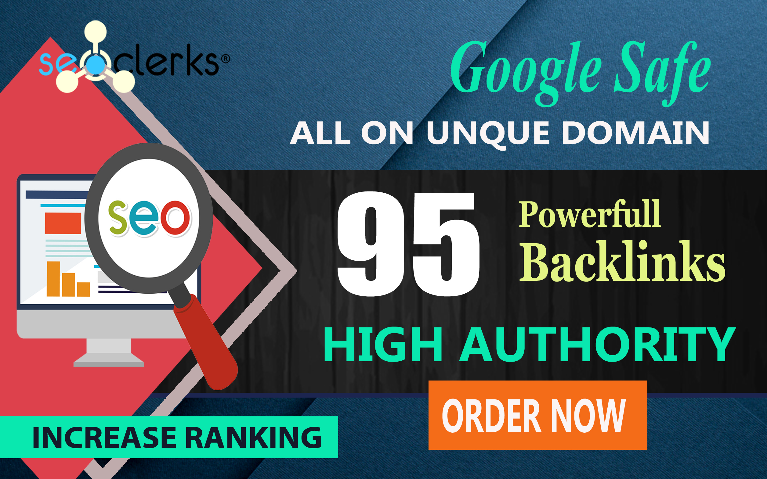 MANUALLY Do 95 UNIQUE PR10 SEO BackLinks on DA100 sites