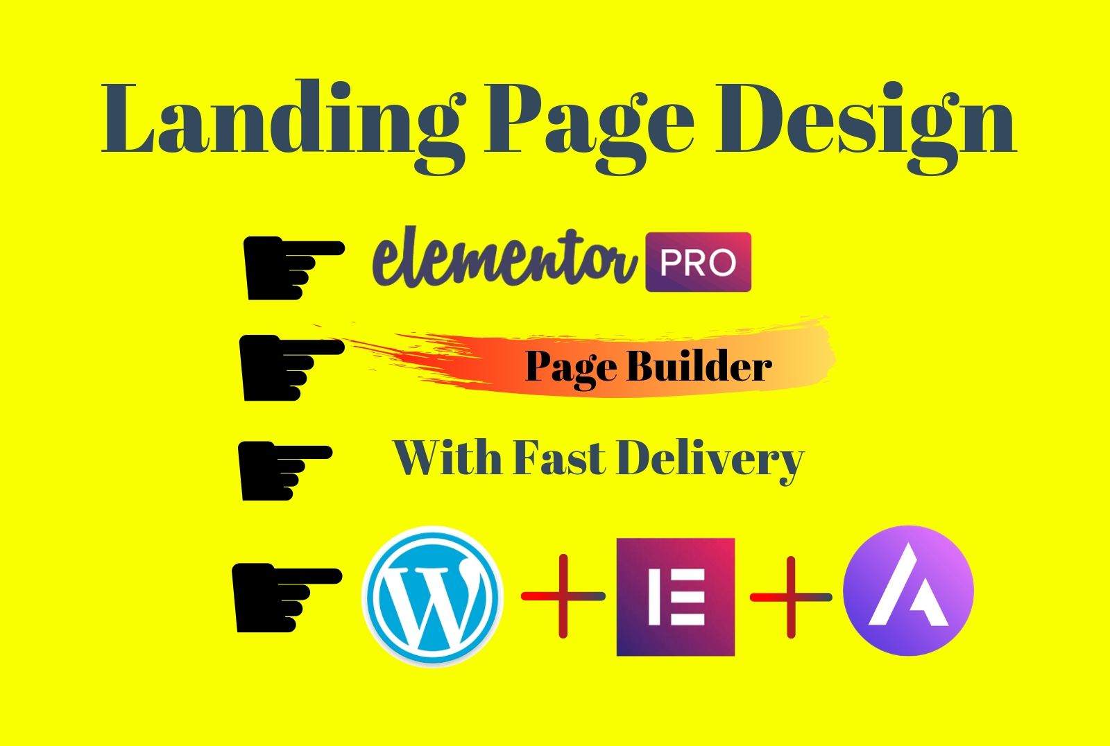 Install elementor pro and create or clone landing page or wordpress website