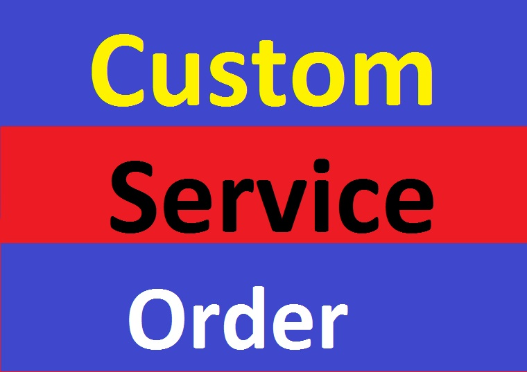Custom Order SMM Services For All Client