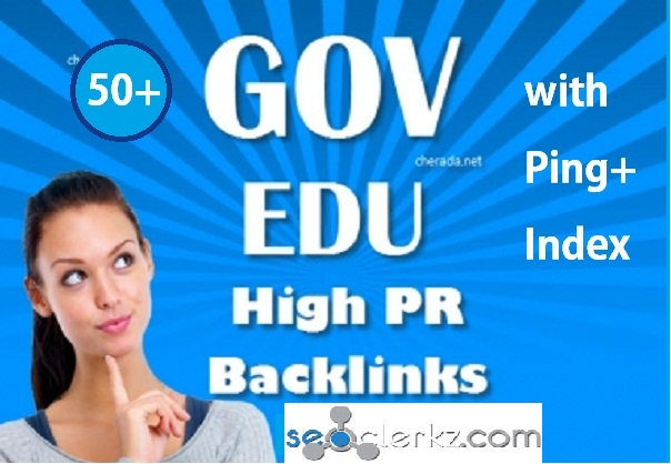 Make 30 Edu and Gov Redirect Backlinks PR10 to PR5 with Ping+Index+RSS Feed For SEO