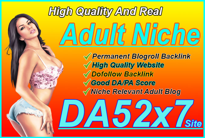 give backlink da52x7 site Adult blogroll permanent