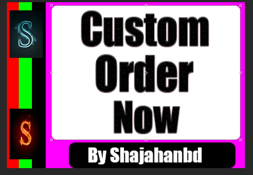 Custom Promotion Order For All My SMM Clients