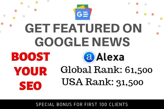 publish on global google news website with 650K traffic