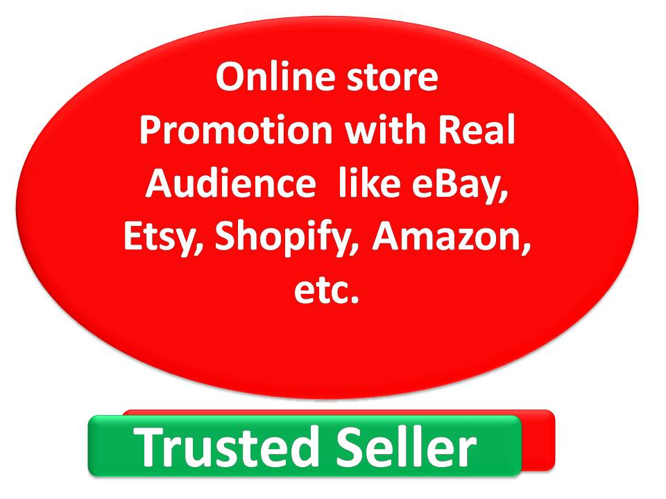 Online store Promotion with Real Audience