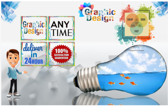 awesome graphic designs and logo for you