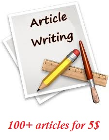 Provide you 100+ high quality,  SEO optimized and unique articles for your niche