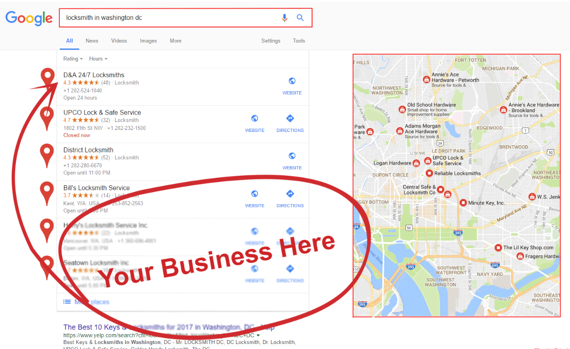 350 Google Maps Citations For Local Business SEO