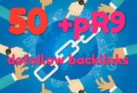 50 Powerful pR9 edu profile backlink fast delivery