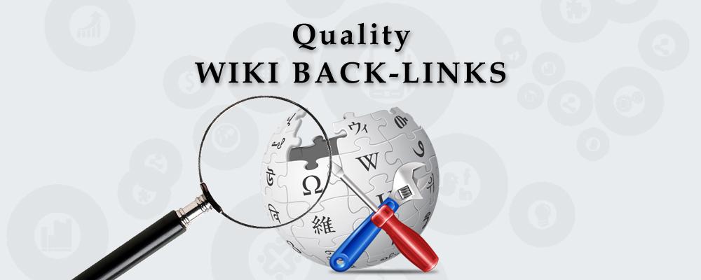 30+ HQ Wiki backlinks MANUAL WHITEHAT WORK