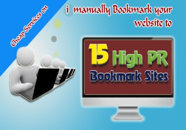 manually submit your blog or website to 15 High PR8 PR5 social bookmarking sites + Ping!!