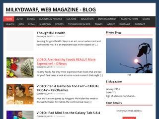 MilkyDwarf, Web Magazine - Blog.