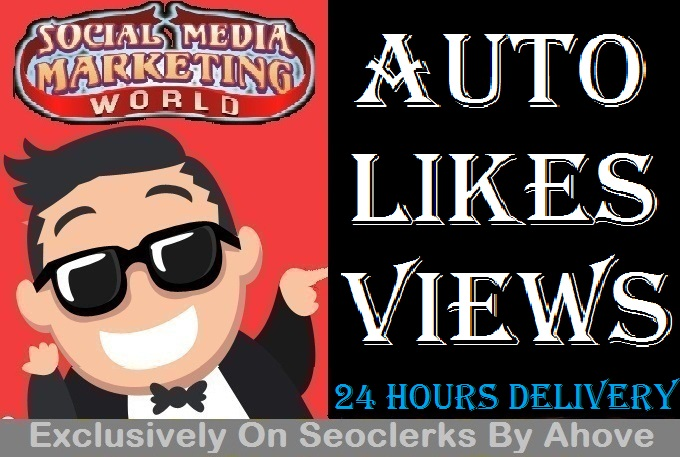 Start Automatic Likes Or Views To Your Upcomming Posts