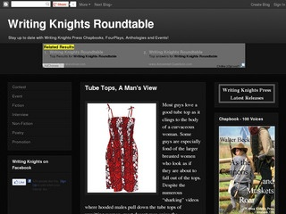 post on Writing Knights Roundtable