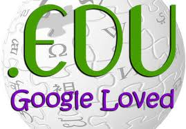 create 20 EDU backlinks with PR4 to PR1 of ACTUAL PAGE