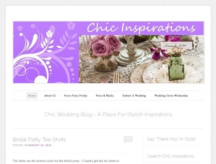 Chic Wedding Blog PR2