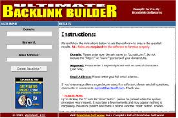 Give Your My Craziest Ultimate Backlink Builder