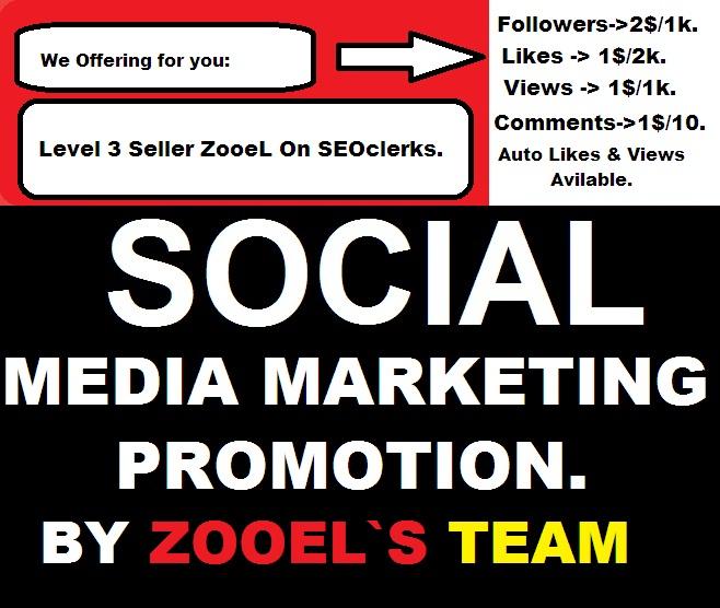 RUN A SOCIAL MEDIA MARKETING PROMOTION for $1 - SEOClerks