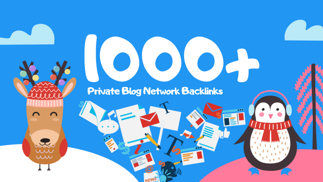 1000 PBN Backlinks and Social Signals from Top Social Networks with Link Juice