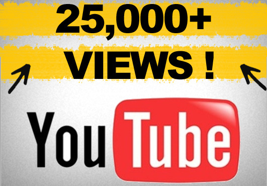 give you 22000+ youtube views, Buy 2 services and get 1