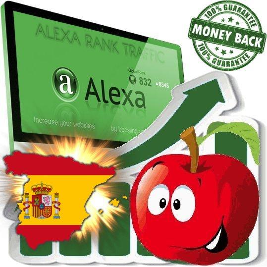 Increase your spanish Alexa Rank (Spain)