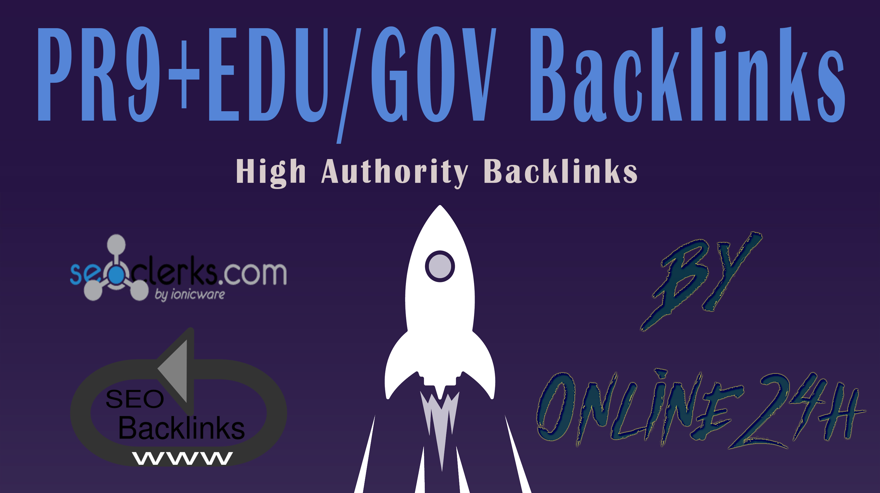 40+ PR9 + 20+. EDU/. GOV Backlinks From Authority Domains only