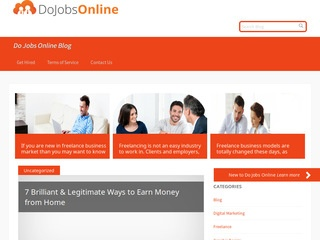 Welcome for Guest Post on Dojobsonline Blog