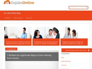Welcome for Guest Post on Dojobsonline Blog
