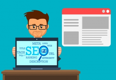 Monthly SEO and SMM for my Client