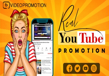 Active Youtube promotion for your video