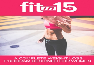 Fit In 15 Ebook and Videos with Master Resale Rights Full Pack