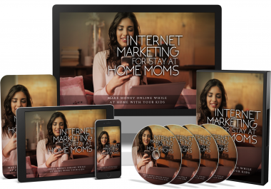 Internet Marketing For Stay-At-Home Moms PLR Product Pack