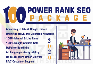 I will build Manual 100 backlinks from unique domain on da100 sites