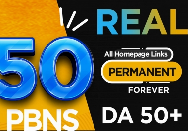 REAL 50 50DA+ Pbns 100% Ranking Booster STICKEY FOREVER