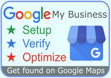 I will create and optimize google my business account