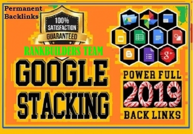 Rank with Google Advanced Stacking Ranking Booster Backlinks